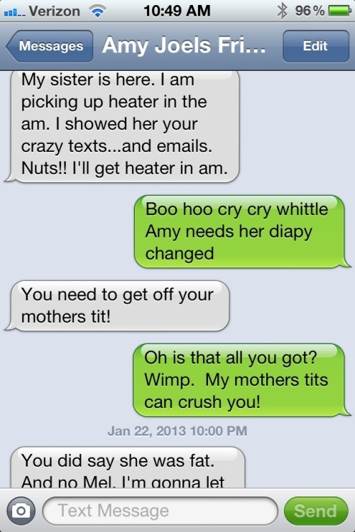 mean funny texts